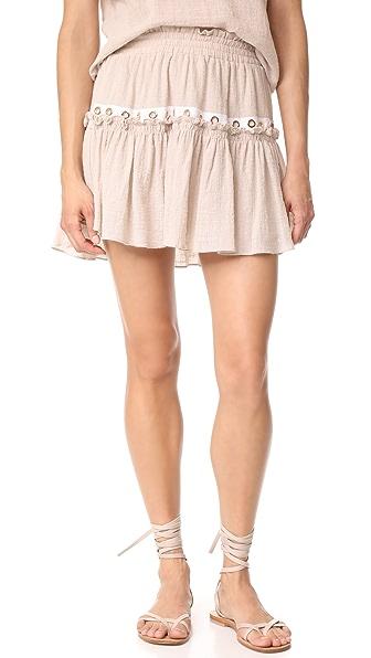 MISA Alana Skirt - Oatmeal