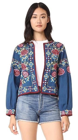 MISA Valentina Jacket In Royal Blue
