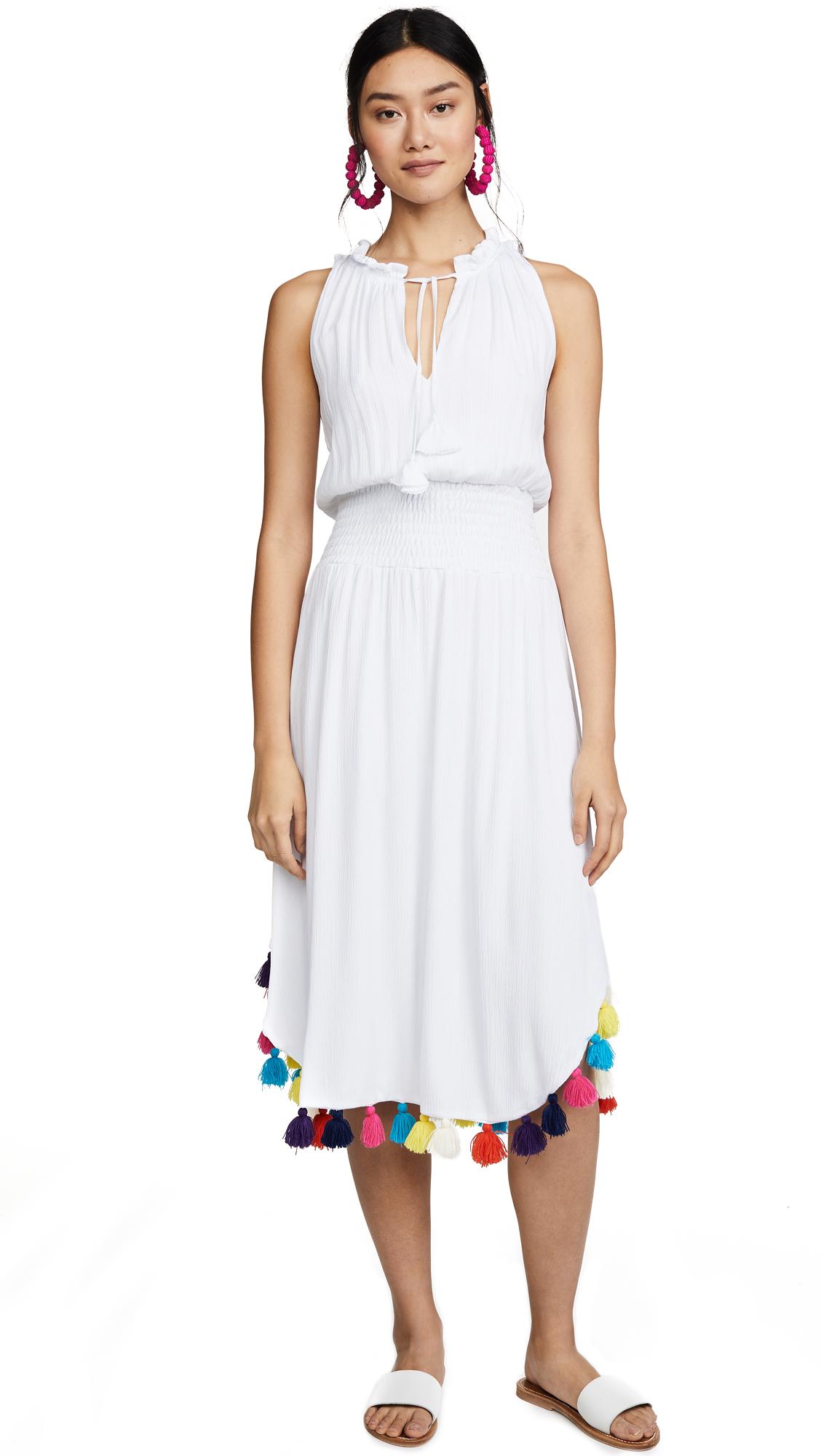 MISA Athena Dress with Rainbow Tassels