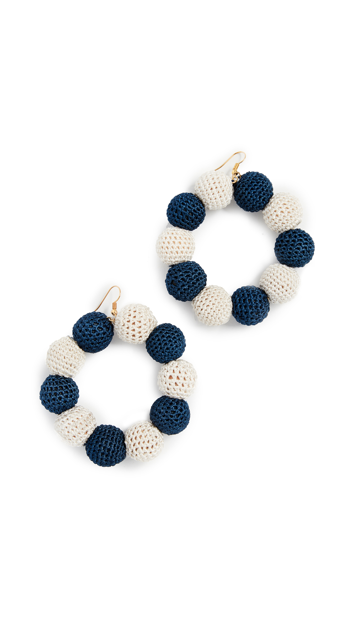 CROCHET DOT EARRINGS