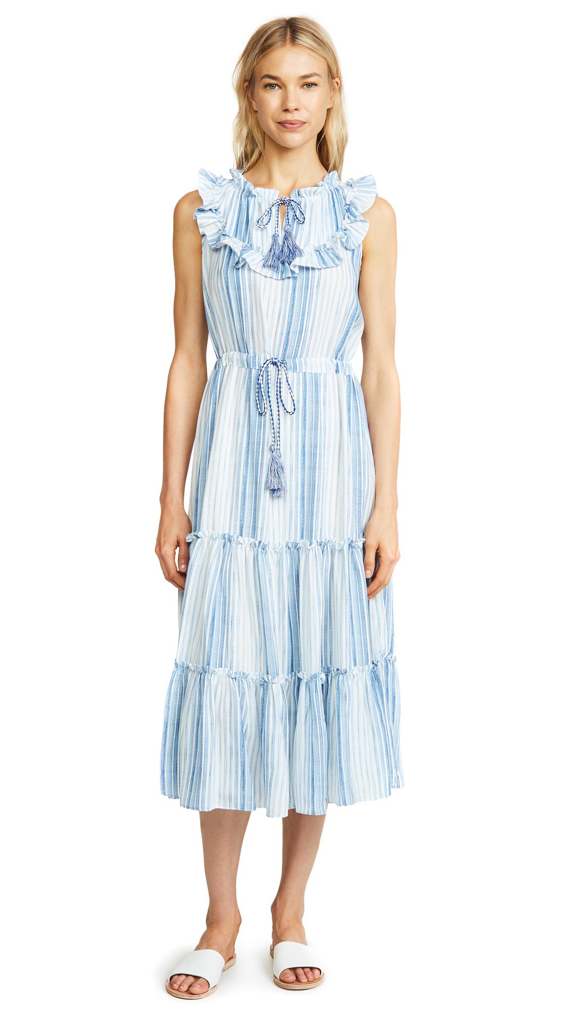 MISA Aleja Dress In Blue