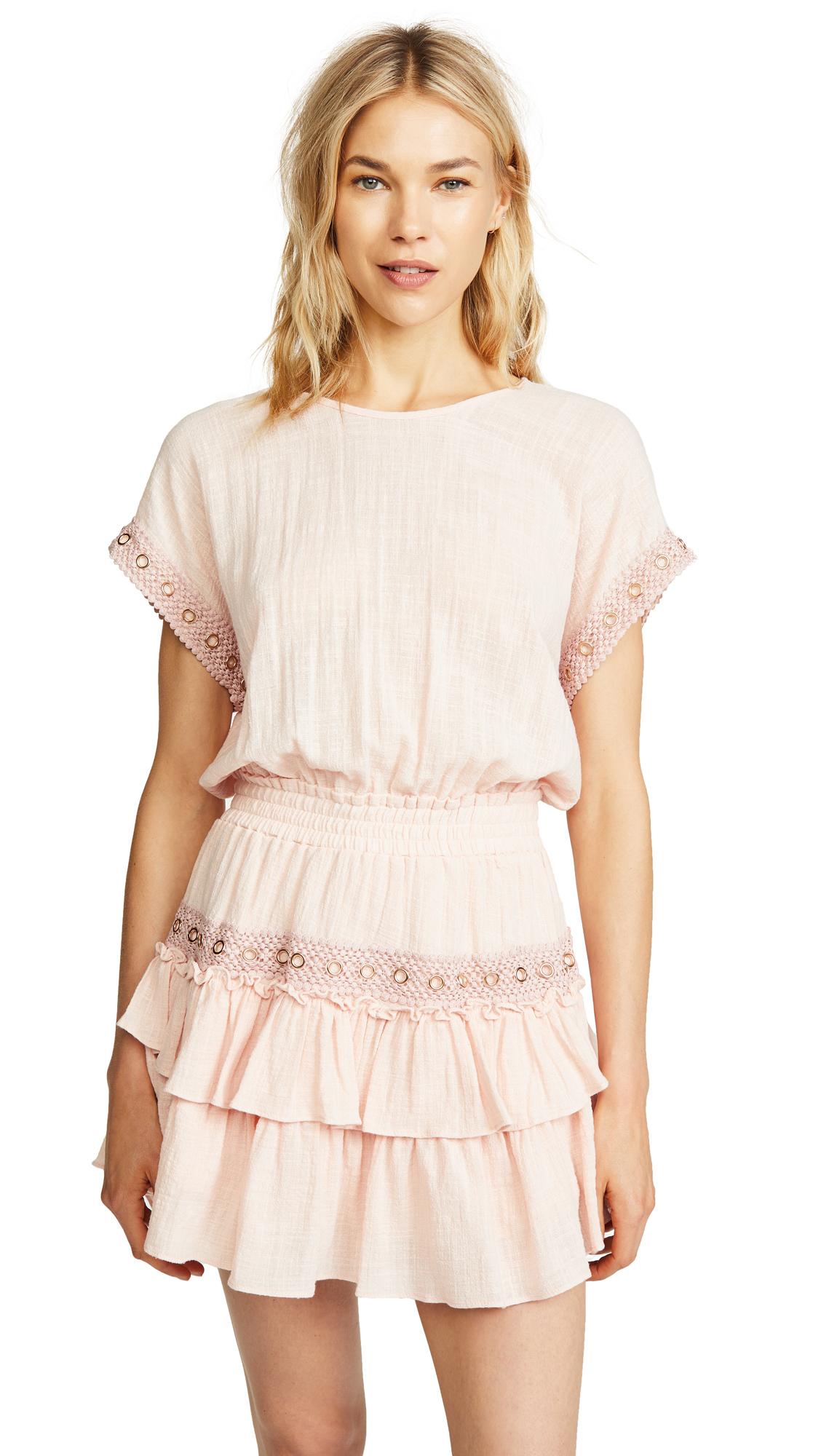 MISA Olivia Dress In Pink
