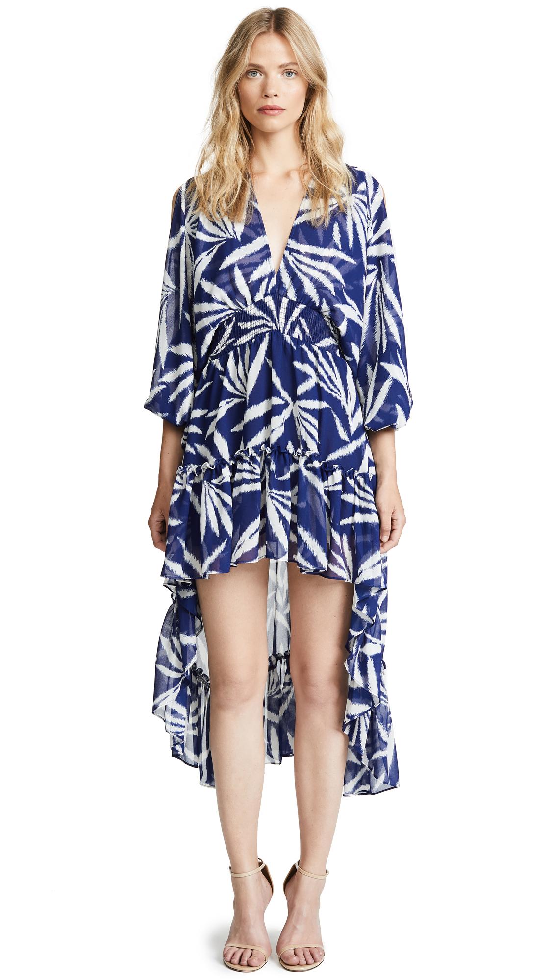 MISA Seda Dress In Blue