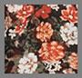 豹纹花卉印花