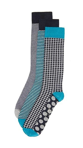 Ted Baker Dracula 3 Pack Socks