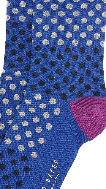 Ted Baker Helium Dot Socks