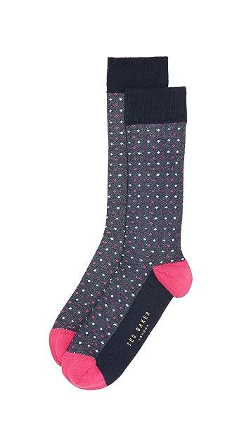 Ted Baker Grate Dot Socks