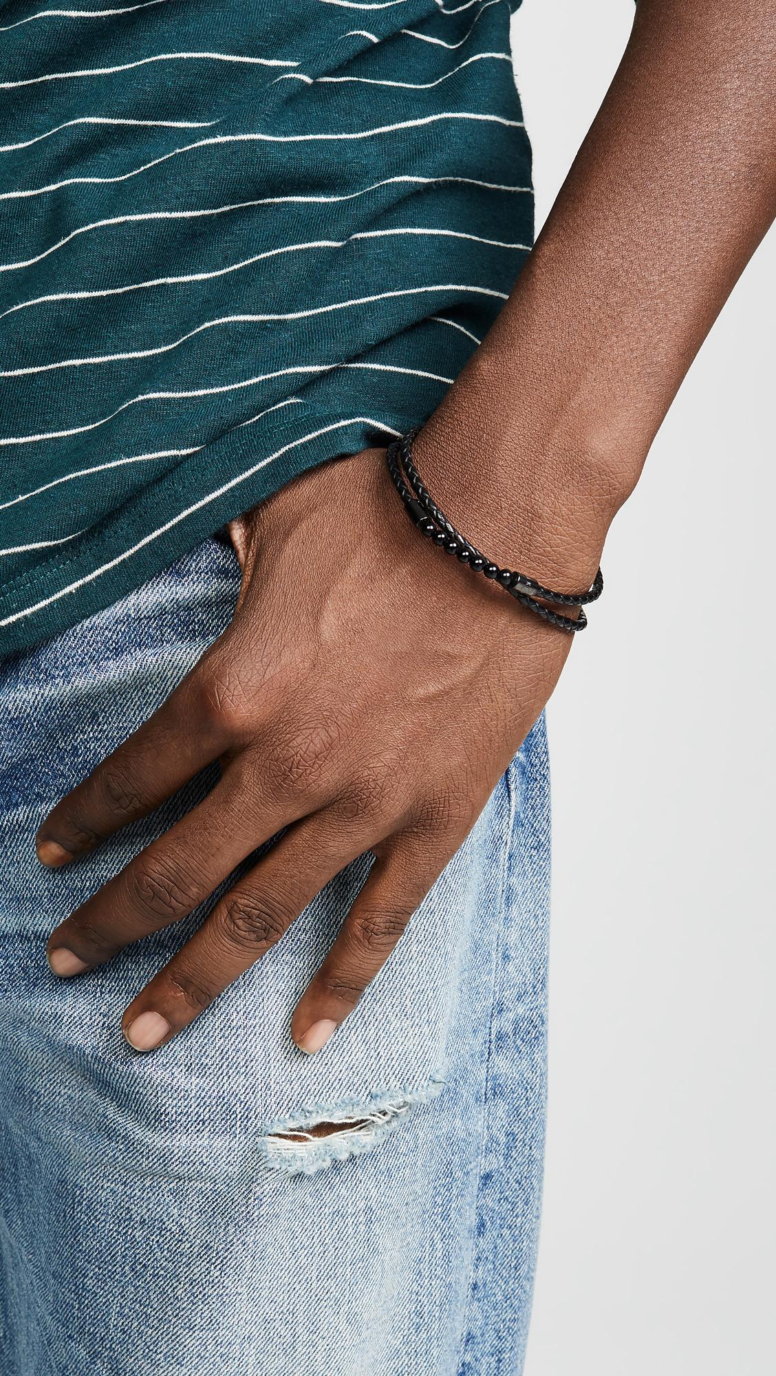 713874051 Ted Baker Lizaa Leather Bracelet