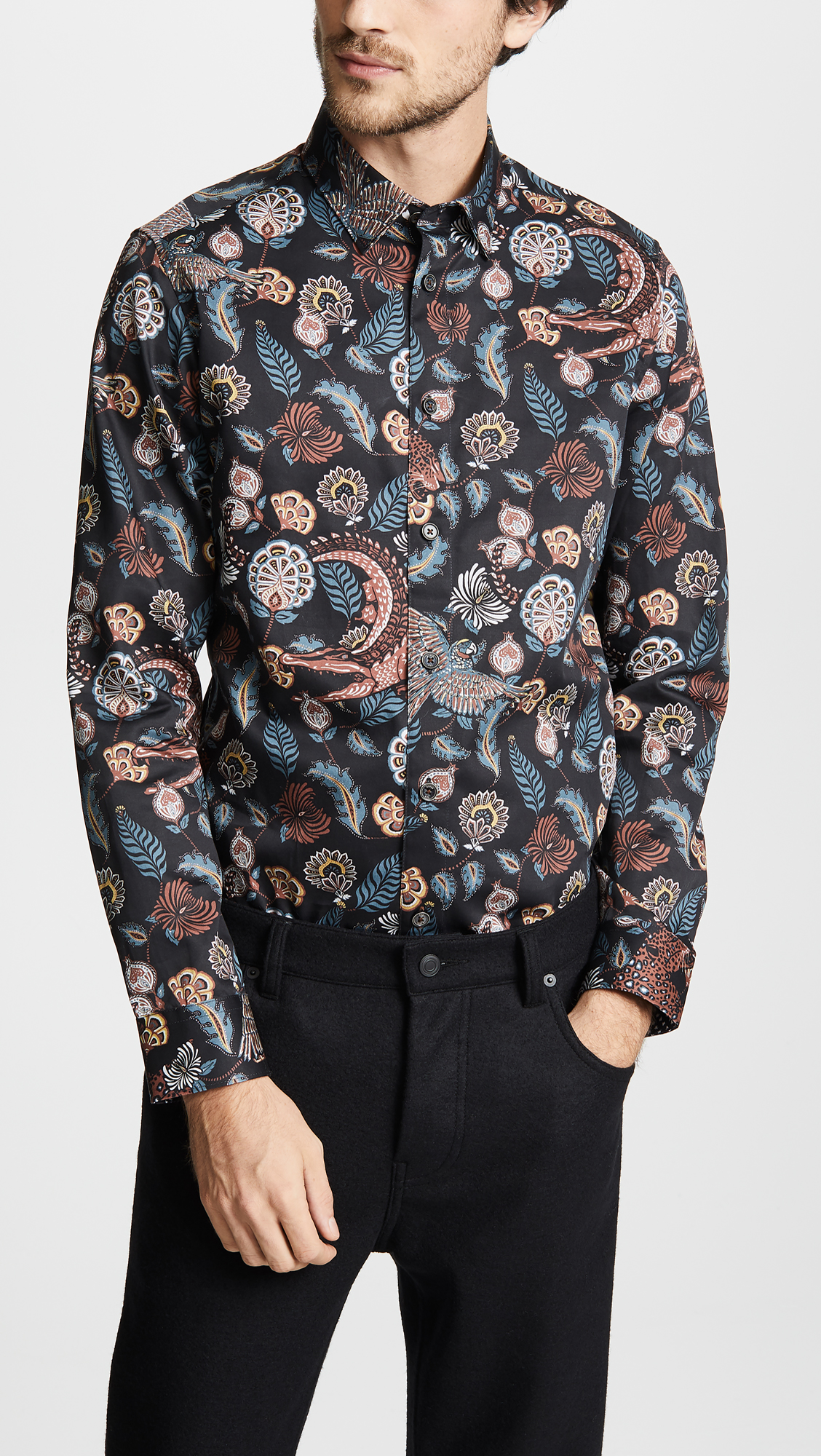babac6da1f4440 Ted Baker Vauxhal Long Sleeve Shirt
