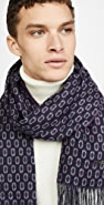 Ted Baker Cashgeo Jacquard Woven Scarf