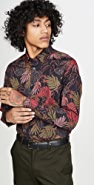 Ted Baker Floral Long Sleeve Shirt
