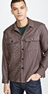 Tres Bien Italian Wool Houndstooth Overshirt