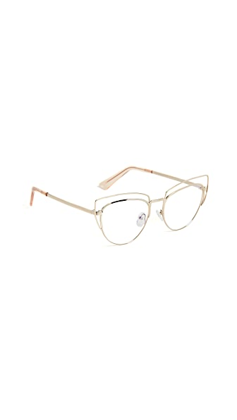 The Book Club One Hundred Beers of Solitude Strain Free Glasses In Rose Gold/Clear