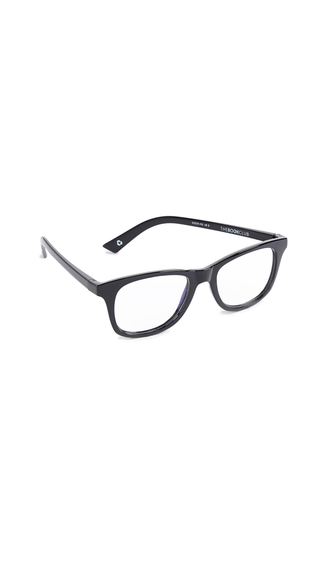 THE BOOK CLUB Grime In Banishment Glasses in Black