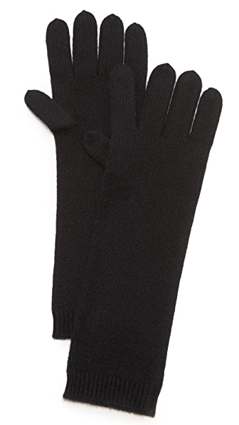 Tse Cashmere Cashmere Long Gloves - Black