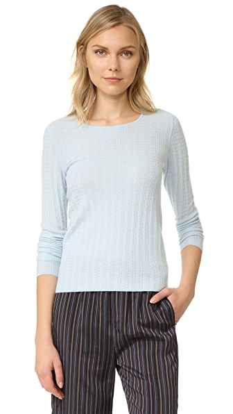 TSE Cashmere Long Sleeve Cashmere Sweater