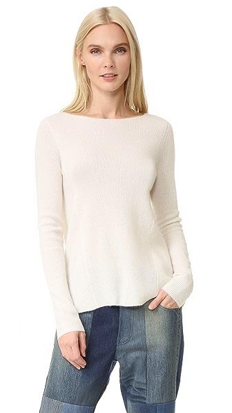 TSE Cashmere Boat Neck Cashmere Sweater