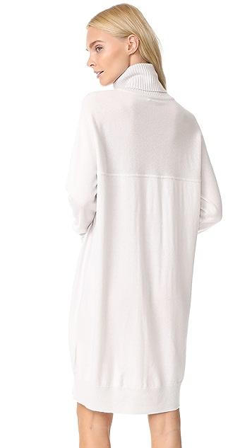 TSE Cashmere Mock Neck Tunic Dress