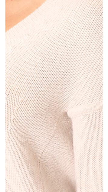 TSE Cashmere Cocoon V Neck Sweater