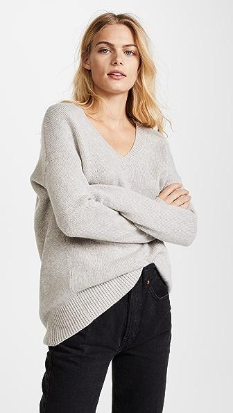 TSE Cashmere Cocoon V Neck Sweater