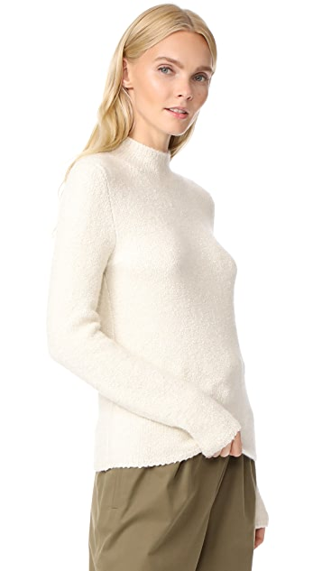 TSE Cashmere Long Sleeve Mock Neck