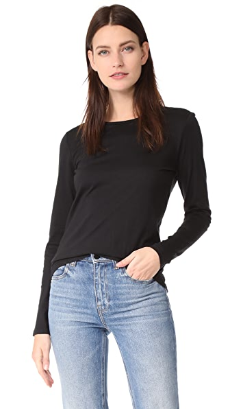 TSE Cashmere Pullover In Black