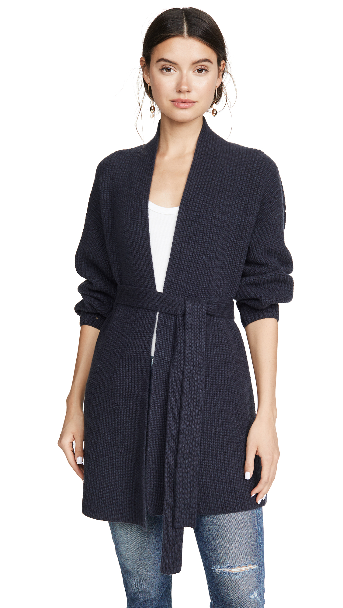 Buy TSE Cashmere online - photo of TSE Cashmere Tie Waist Cardigan