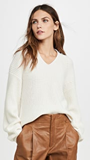 TSE Cashmere Shaped Ribbed Cashmere Sweater