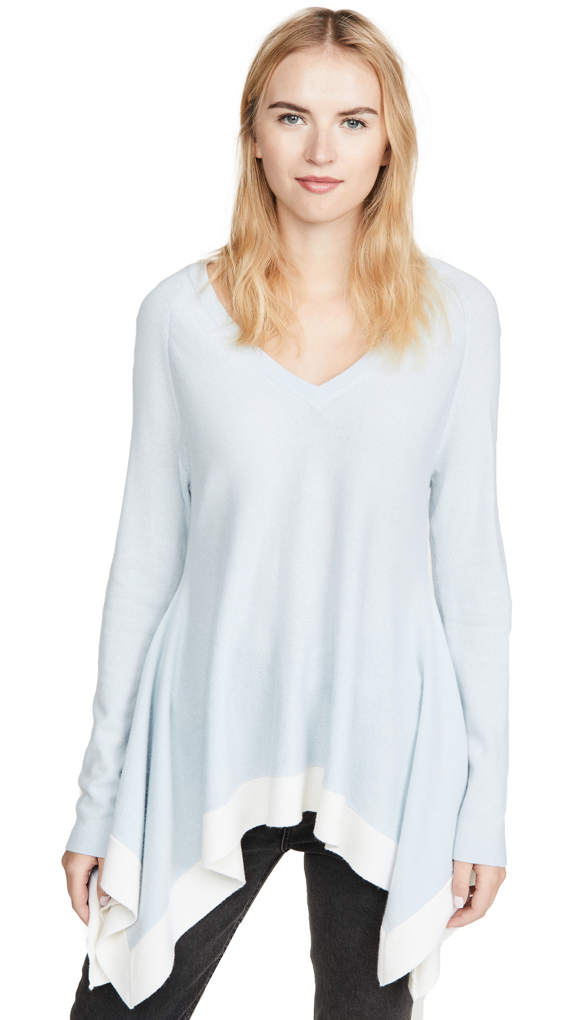 Buy TSE Cashmere online - photo of TSE Cashmere Draped Cashmere Sweater