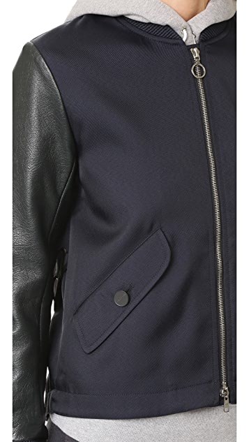 Tim Coppens MA 1 Laced Bomber Jacket