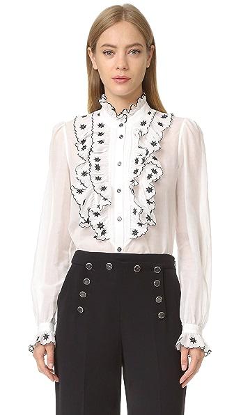 Temperley London Рубашка Etta