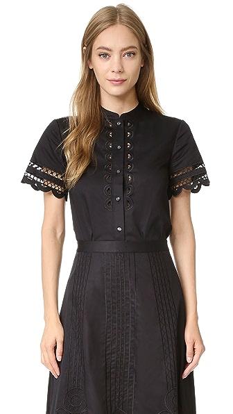 Temperley London Рубашка Bellanca