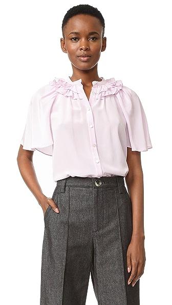 Temperley London Рубашка Capella Cape