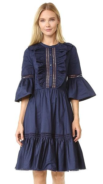 Temperley London Платье из хлопка Morganne