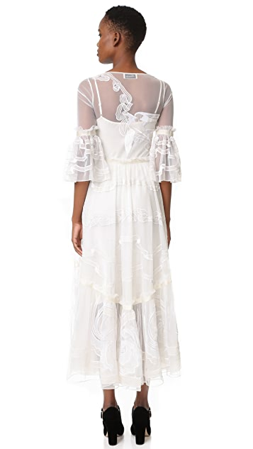 Temperley London Midi Mast Dress