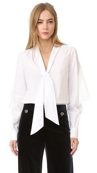 Temperley London Sunray Necktie Shirt