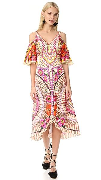 Temperley London Dreamcatcher Dress - Pomegranate Multi
