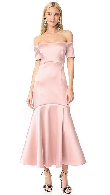 Temperley London Midi Onyx Evening Dress