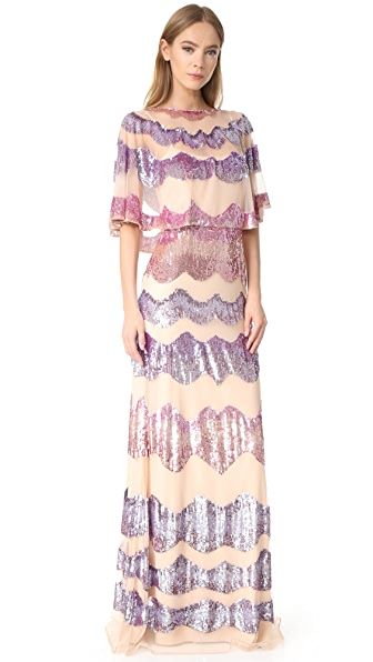 Temperley London Fairy Queen Long Dress