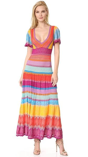 Temperley London Midi Sunlight Knit Dress