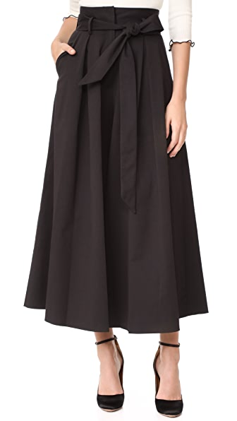 Temperley London Blueberry Culottes - Black