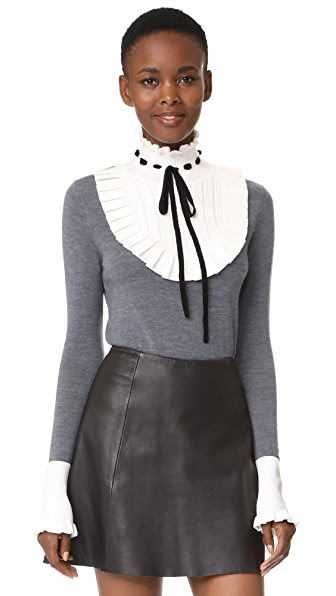 Temperley London Sigmund Sweater - Charcoal