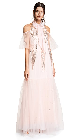Temperley London Mineral Dress In Shell