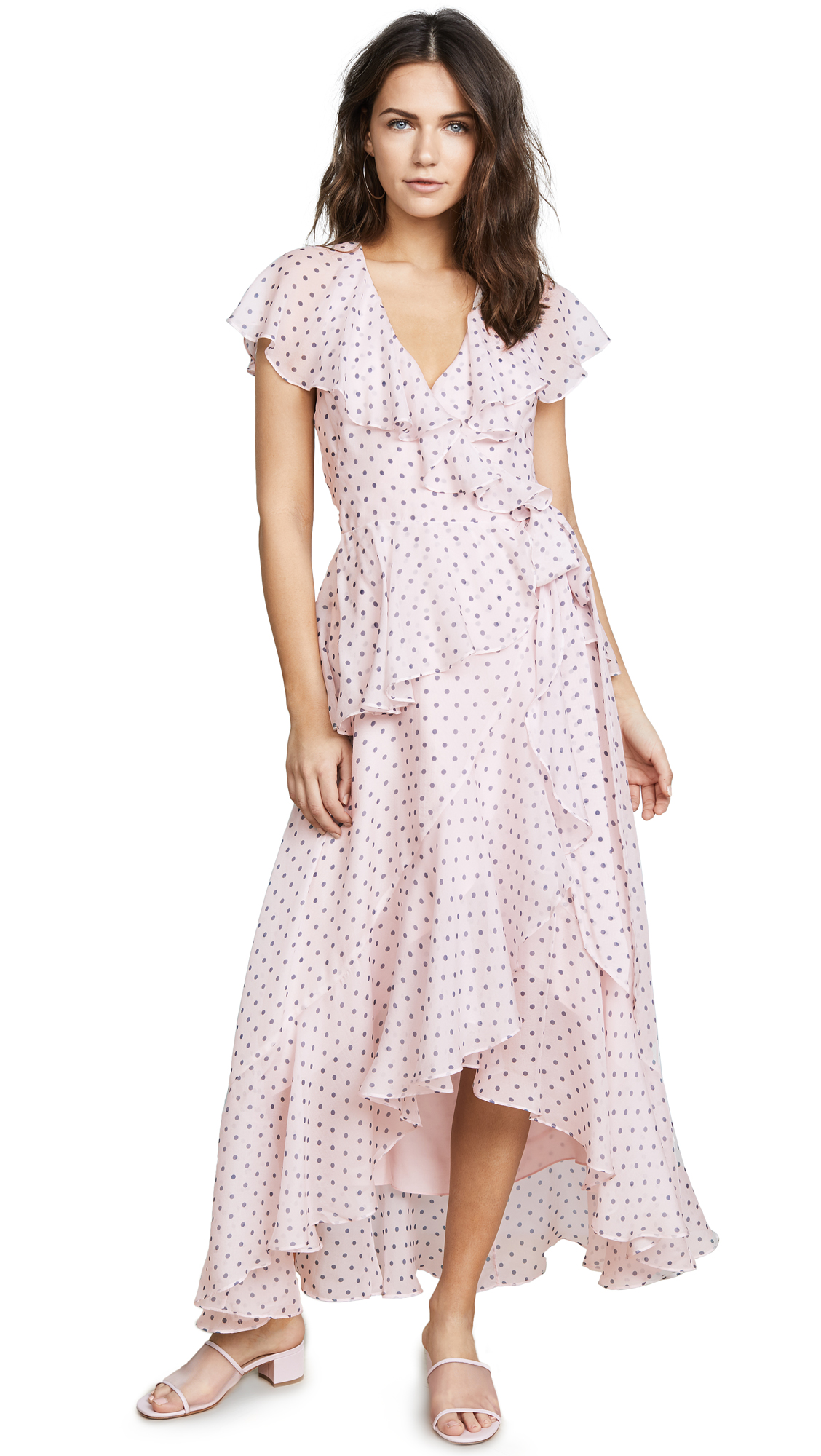 Temperley London Dot Printed Dress