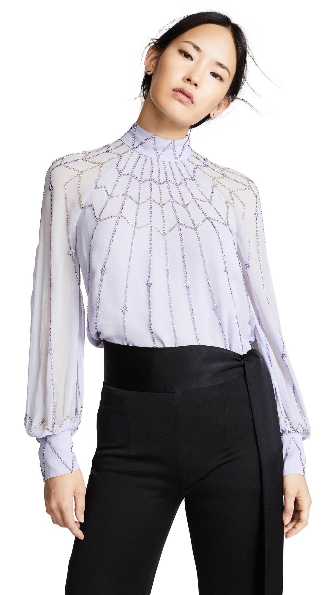 Temperley London Glide Top In Dove