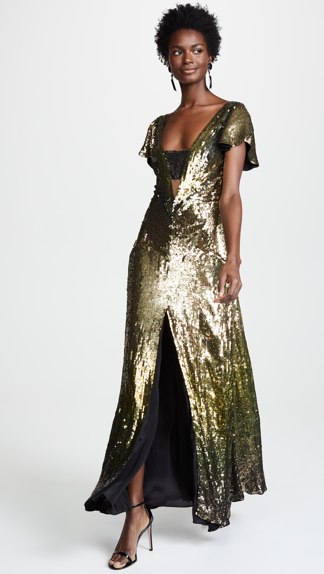 7f425beddb3 Temperley London Ruth Sequin Gown