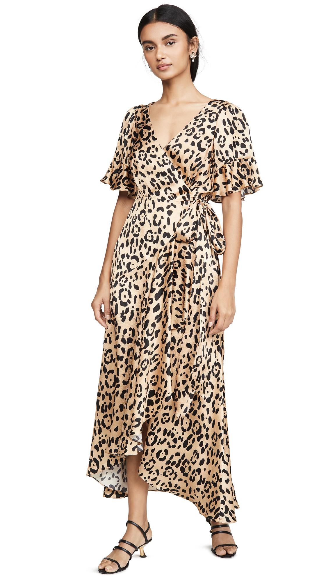 Buy Temperley London online - photo of Temperley London Piera Wrap Dress
