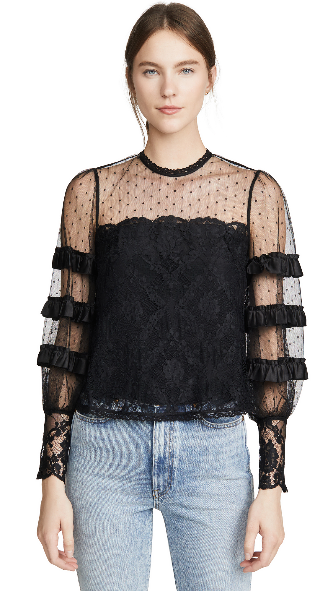 Photo of Temperley London Florence Blouse - shop Temperley London Tops, Blouses online