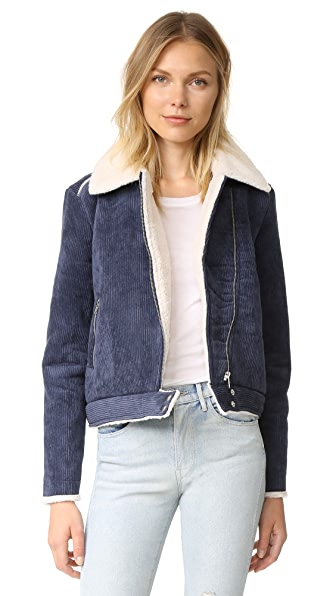 The Fifth Label Two Minds Jacket - Washed Navy