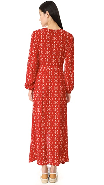 The Fifth Label Return to Paradise Long Sleeve Dress